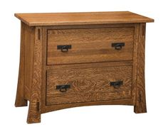 Amish Modesto Mission Lateral File Cabinet