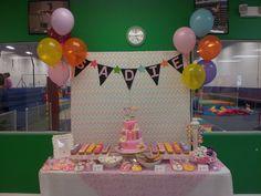gymnastics Birthday Party Ideas | Photo 5 of 20 | Catch My Party