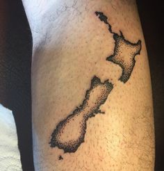 Fresh WTFDotworkTattoo Find Fresh from the Web #dorwork #newzealand #map #tattoo #femaletattooartist thejayne WTFDotWorkTattoo