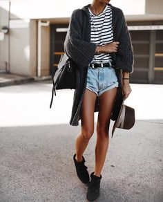 fashion, street style, and ootd image Black Women Fashion, Latest Fashion For Women, Look Fashion, Fashion Outfits, Womens Fashion, Girl Fashion, Fashion 2017, 90s Fashion, Fashion Rings