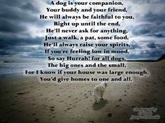 Love dogs? Enjoy my verse - feel free to use it in your card crafting.