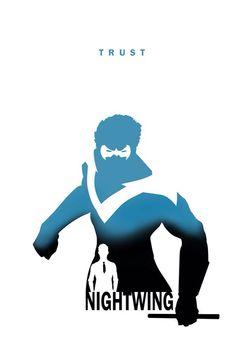 Nightwing - Trust by Steve Garcia