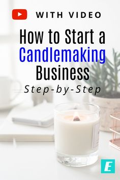 Are you thinking about starting a candle making business? If so, check out this step-by-step tutorial for how to start a candle making business. Candle Making At Home, Candle Making For Beginners, Candle Making Business, Soy Candle Making, Making Candles, Homemade Scented Candles, Expensive Candles, Candle Packaging, Candle Labels