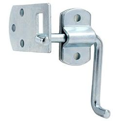 Amazon.com: Pkg of (4) Corner Gate Latch Sets for Stake Body Gates - Clear Zinc: Home Improvement
