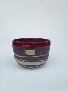 Purple Handmade Bowl tea Bowl Cup  16 oz. BWP2