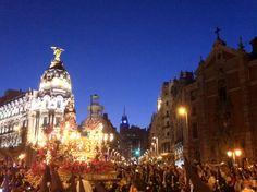 El Cristo de Medinaceli, la más castiza de las procesiones de Semana Santa.
