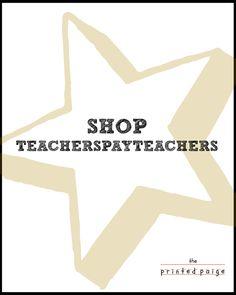 The Printed Paige | Teachers Pay Teachers Store