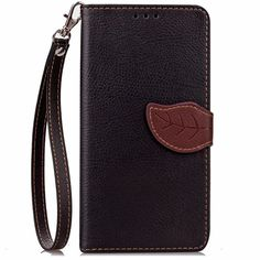 Luxury Leather Wallet Case Detachable Lanyard + Kickstand Mobile Phone case for iPhone 5 5s 5c 6 6s 6plus 7 7plus 6 7 Plus Case #Affiliate