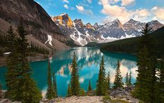 1000 places to go before i die: Moraine Lake, Banff National Park, Alberta, Canada