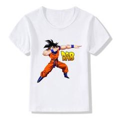 2017 Niños Dabbing Dragon Ball Z Goku Camisetas Kids Summer Tops Niños/Niñas Ropa de Manga Corta Bebé Anime Tee camisa, Retro Outfits, Boy Outfits, Cute Outfits, Goku T Shirt, Summer Kids, Short Girls, Kids Fashion, Style Fashion, Baby Kids