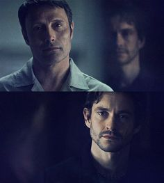 Image about hannigram in hannibal by Whisper on We Heart It Hannibal Quotes, Hannibal Funny, Nbc Hannibal, Hannibal Lecter, Will Graham Hannibal, Hannibal Tv Series, Bryan Fuller, Good Morning Gorgeous, Psychological Horror