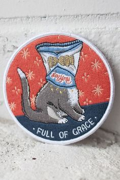 23 Patches For Your Tattered Clothes And/Or Life Cute Patches, Pin And Patches, Iron On Patches, Funny Patches, Diy Patches, Embroidery Patches, Embroidered Patch, Sewing Patches, Little Presents