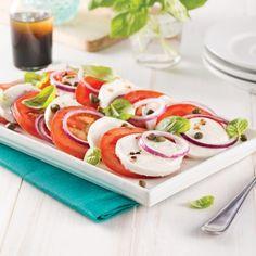 Salade caprese - Recettes - Cuisine et nutrition - Pratico Pratique