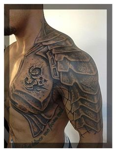Half-sleeve  Shoulder. Gladiator Armor. Don't know if I would ever go this far, but its kind of cool