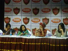 A session with women entrepreneurs at Bibs,Mba Institute