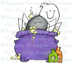 Spider Stew - Halloween Images - Halloween - Rubber Stamps - Shop