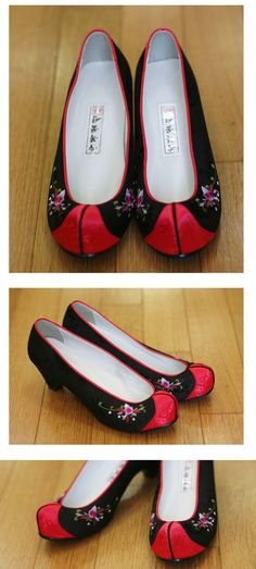 dandelion shoes, $24 HANBOK -accessories for korean clothes,dress. hanbok shoes,norigae,korean traditional accessory