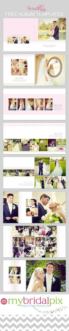 Photo Book Cover Template for Photographers, Senior Album - free album templates