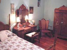 Her bedroom furniture was from the 1920's, looked just like this.