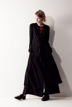 yohji yamamoto noir s/s 2011.