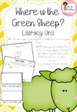 Where is the Green Sheep - Literacy Unit: I found this unit useful, it has a number of good activities for setting up class 'Where is the Green Sheep news/classroom friend' Color Word Activities, Drawing Activities, Literacy Activities, Sheep Crafts, Little Learners, Home Schooling, Great Books, The Unit, Library Ideas