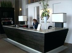 reception desk plans design image of contemporary reception desk furniture desk lamp with magnifier