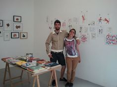 Gunter with Aitor Saraiba at Porto