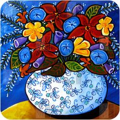 Renie Britenbucher Summer Bouquet Wall Art