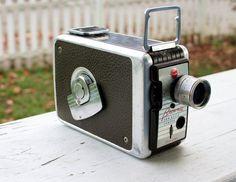 Vintage Kodak Brownie 8mm Movie Camera by RobotRescue on Etsy