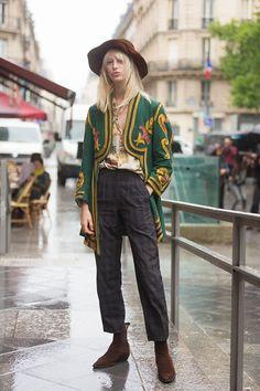 Lili Sumner's Best Street Style Looks