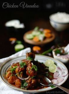 Chicken Vindaloo is a Goan curry preparation that hits all the right notes! Its spicy, tangy and has just the hint of sugar to balance things out.An easy, slow cooked dish that is perfect for weeknights on the couch, plate in hand , enjoying this dish with some rotis or rice.