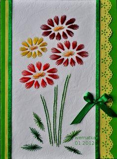 stitching cards haft matematyczny- kartki różne - wernatka 1 - Picasa Web Albums