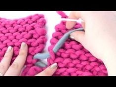 #Tricot - La couture invisible pour le point mousse (à la verticale) - YouTube