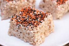 Halloween Vegan Rice Krispies Treats (with Aquafaba)