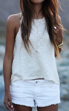belle de jour en Blanc