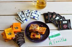 Les petits sachets de À L'UNITHÉ s'accompagnent de gourmandise ! via http://slanellestyle.blogspot.fr. www.alunithe.com