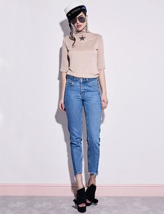 Billy Star Turtleneck The Essential, Turtleneck, Mom Jeans, Normcore, Stars, Blouse, Fall, Pants, Fashion