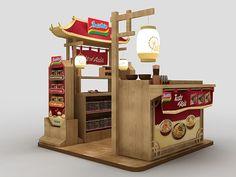 ✔ Booths on Behance gerobak burger gerobak besi gerobak thai tea gerobak modern gerobak cafegerobak siomay Kiosk Design, Display Design, Cafe Design, Retail Design, Design Design, Exhibition Stall, Exhibition Booth Design, Design Stand, Food Kiosk