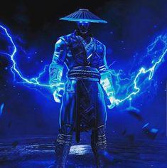 Raiden Mortal Kombat, Scorpion Mortal Kombat, Mortal Kombat Art, Comic Books Art, Comic Art, Book Art, Mortal Kombat Shaolin Monks, Lord Raiden, Mortal Kombat X Wallpapers