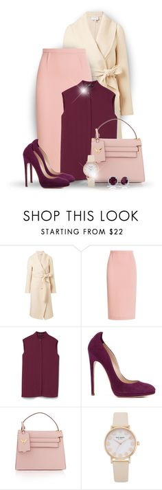 """Office Lady"" by bliznec ❤ liked on Polyvore featuring Witchery, Roland Mouret, MANGO, Chloe Gosselin and Valentino"