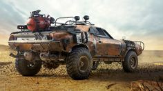 apocalyptic high chassis car - Google'da Ara