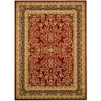 Safavieh, Lyndhurst Red/Black 6 ft. x 9 ft. Area Rug, LNH214A-6 at The Home Depot - Mobile