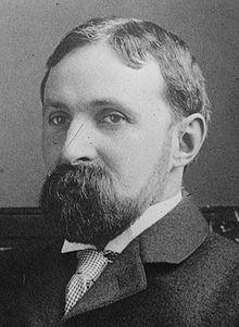 "Albert Bushnell Hart, AHA president 1908-09.  His presidential address, ""Imagination in History,"" can be read here: http://www.historians.org/info/AHA_History/abhart.htm"