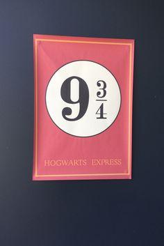 Geburtstag Harry Potter Deko Eingang