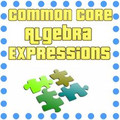 Want a fun way to assess your students understanding of equivalent expressions? This fun puzzle includes expressions involving coefficients, variables, exponents, like terms, and the distributive property. Algebra Equations, Maths Algebra, Maths Puzzles, Common Core Algebra, Equivalent Expressions, Greatest Common Factors, Algebraic Expressions, Order Of Operations, 4th Grade Math