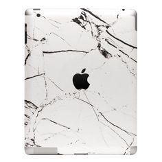 Hyper Marble iPad Skin - White