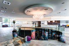 Lobby Mainport Hotel Rotterdam © Paul Kampman Fotografie