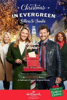 Christmas In Evergreen Letters To Santa A Hallmarkchannel Christmas Movie Starring Jill Wagner