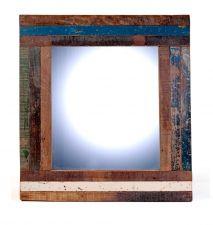 Spiegel | WAAR Voor de rustieke fotolijstjes spiegelwand in de slaapkamer