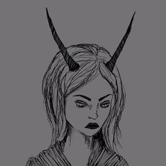 Demon-girl doodle. Working with different means of shading. #girl#doodle#demon#devil#horns#satan#occult#grey#black#drawing . #July#girl#selfie#hair#makeup#nails#nailart#alternative#goth#college#art#student#artstudent#photo#personal#picture#today#me#myself#2017 http://butimag.com/ipost/1552642433240839243/?code=BWMGBEYhLRL